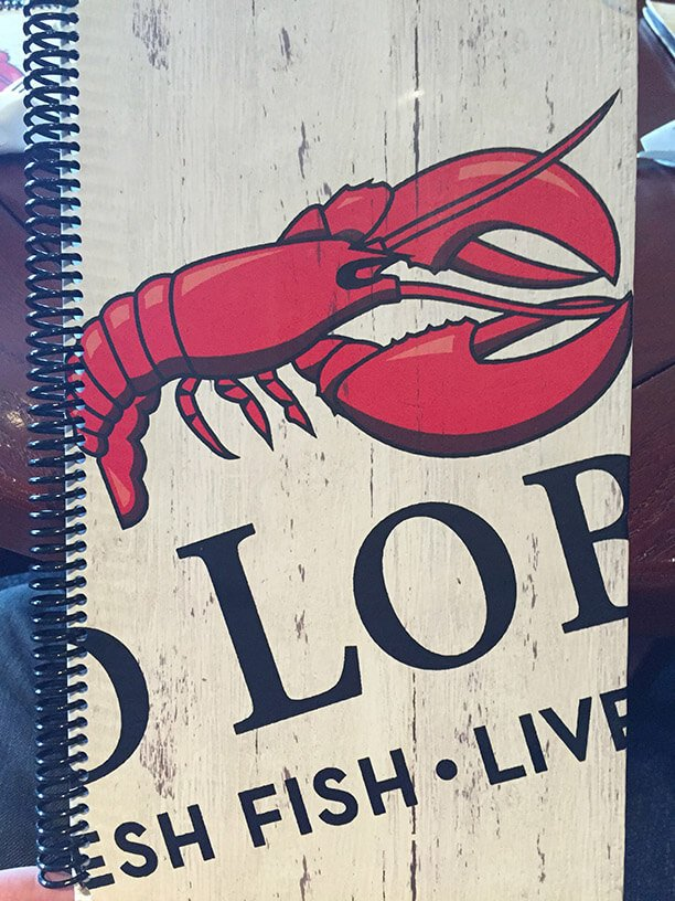 Red Lobster Front Cover