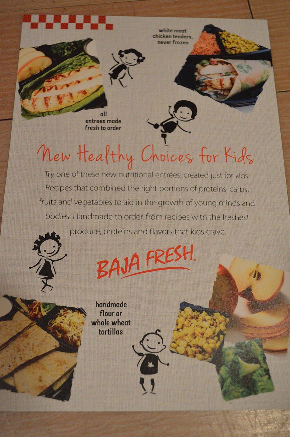 baja fresh menu image 6