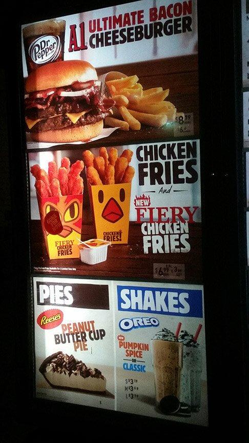 Burger King Menu – 10