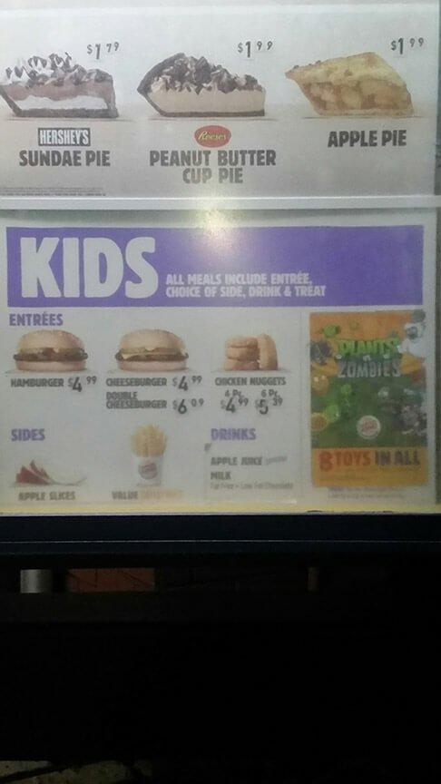 Burger King Menu – 7