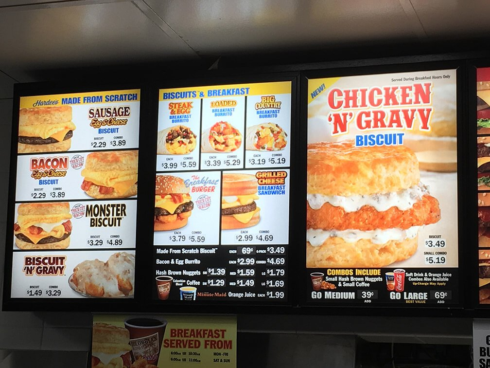 Carls Jr Menu – 2