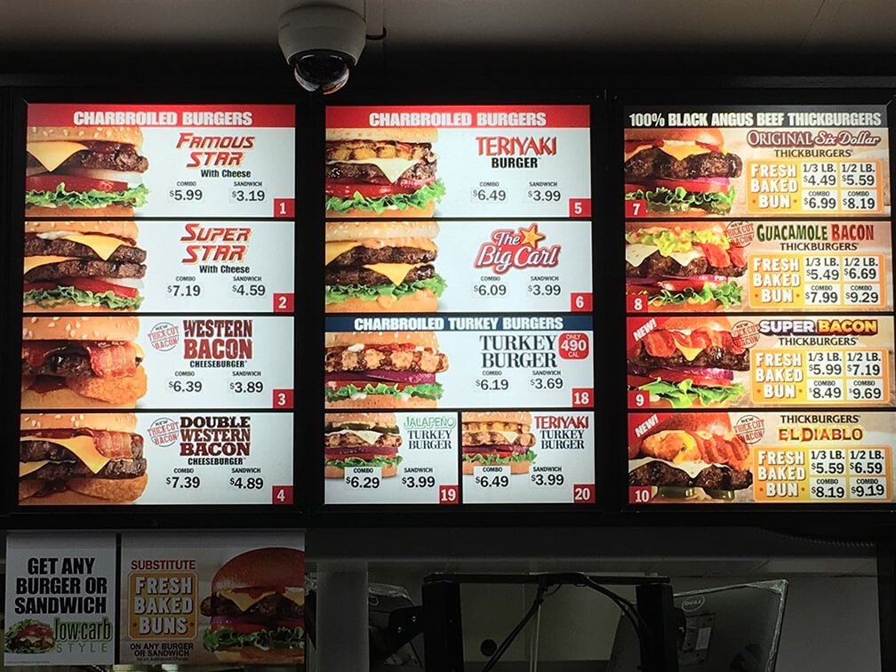 Carls Jr Menu – 3