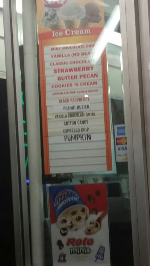 Dairy Queen Menu – 1