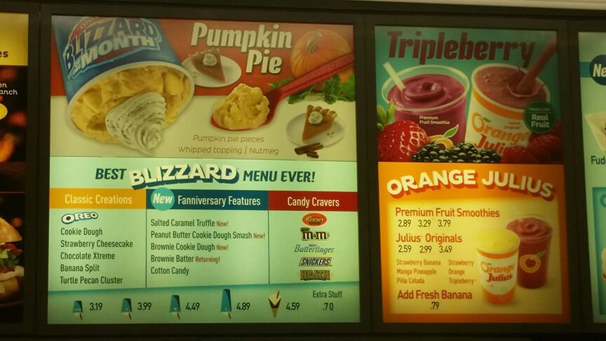 Dairy Queen Menu – 4