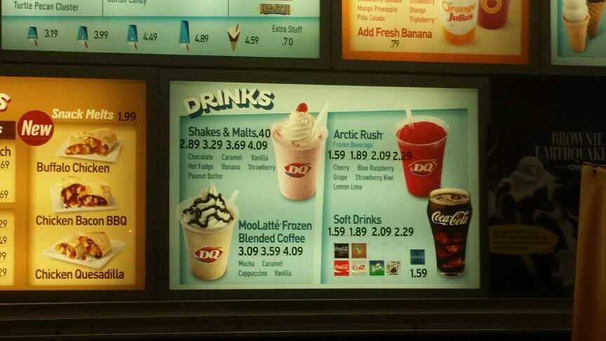 Dairy Queen Menu – 6
