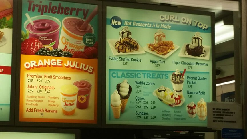 Dairy Queen Menu – 8