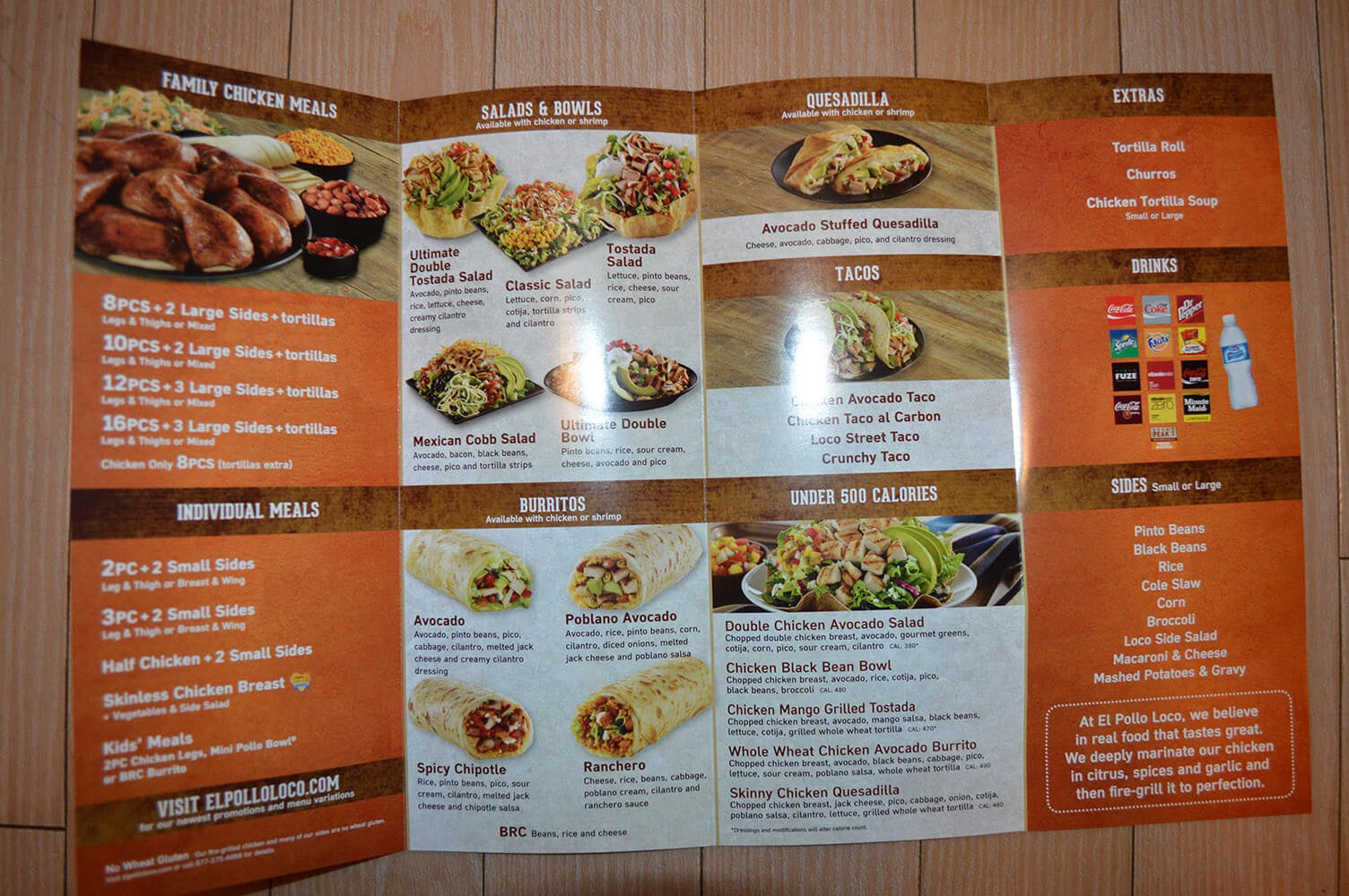 el pollo loco menu prices