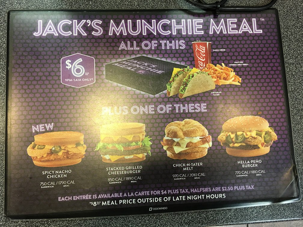 Jack In The Box Chocolate Overload Cake Price