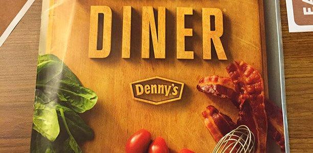 Dennys Menu – 1