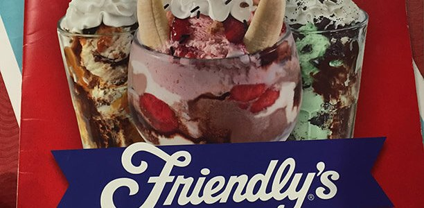 Friendlys Menu – 1