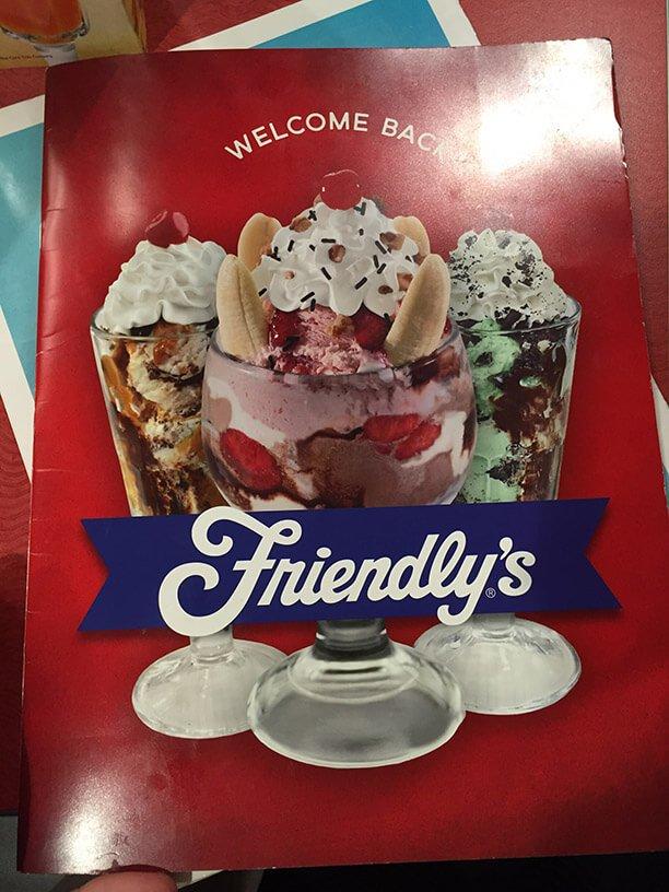 Friendlys Menu – 1