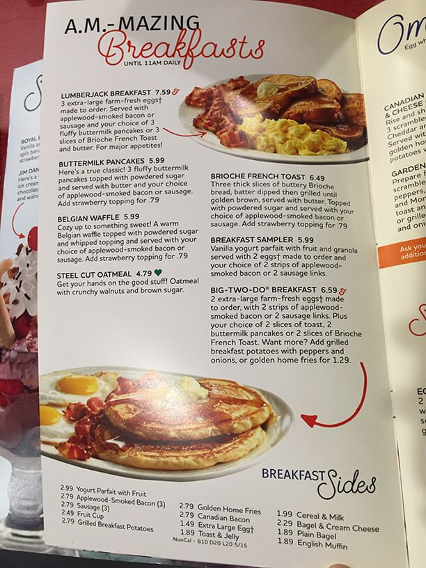Friendlys Menu – 10