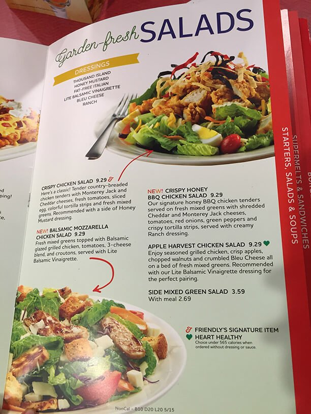 Friendlys Menu – 13