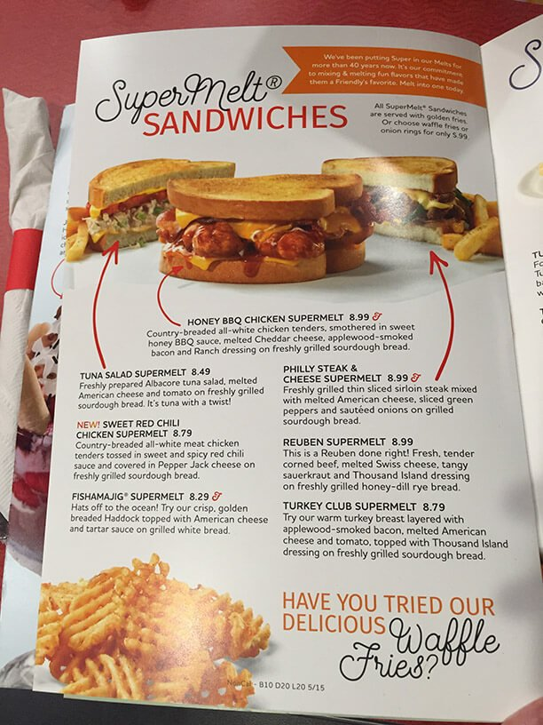 Friendlys Menu – 14