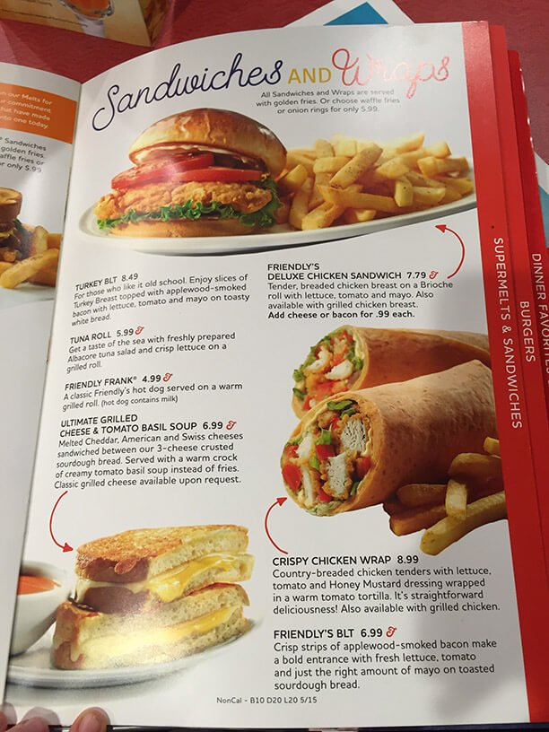 Friendlys Menu – 15