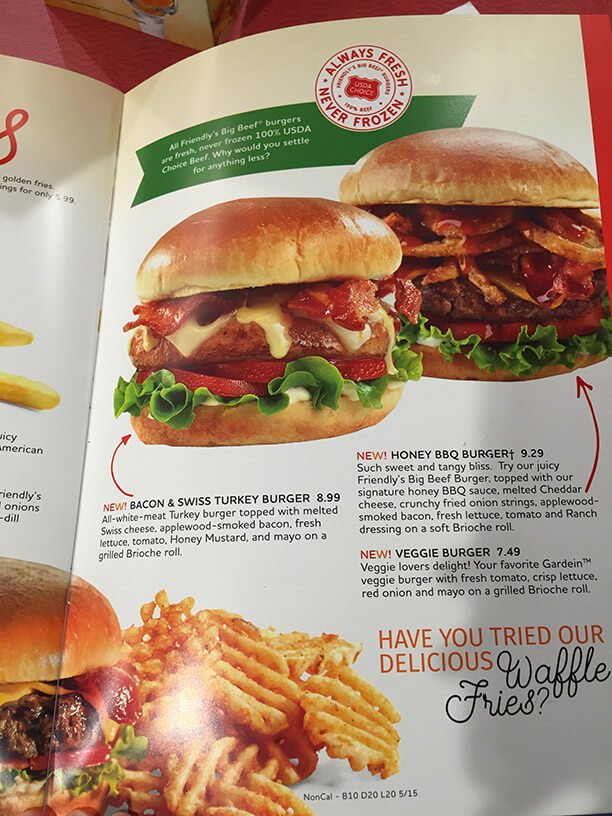 Friendlys Menu – 17
