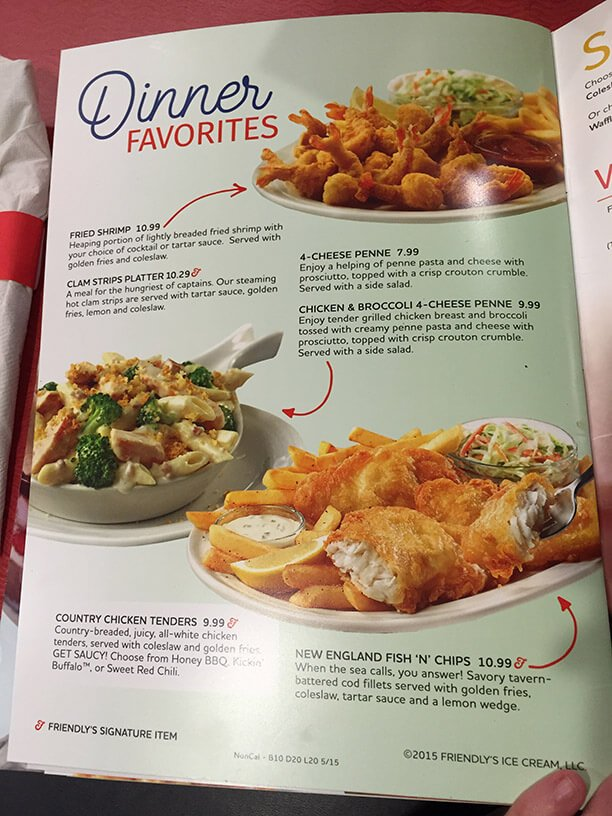 Friendlys Menu – 18