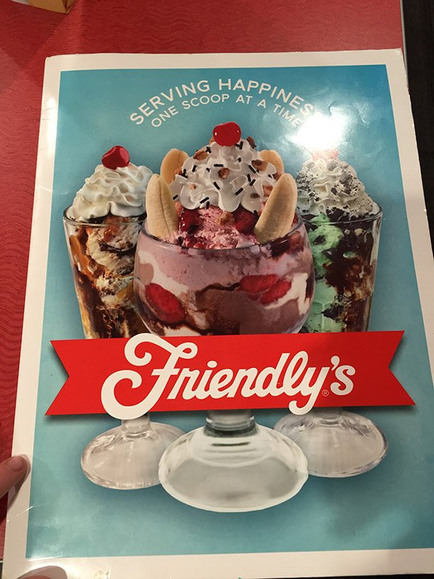 Friendlys Menu – 3
