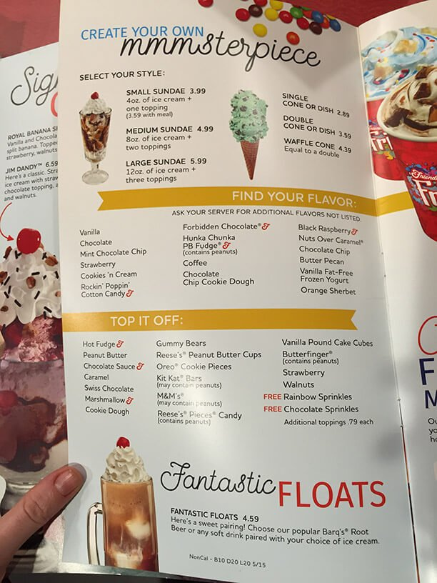 Friendlys Menu – 8
