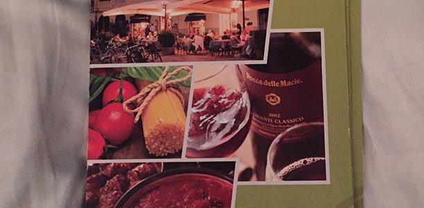 Olive Garden Menu – 1