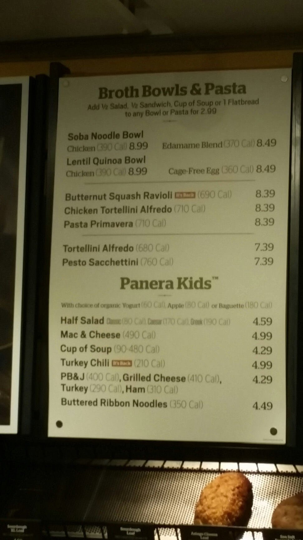 It is an image of Sassy Panera Bread Printable Menu With Prices