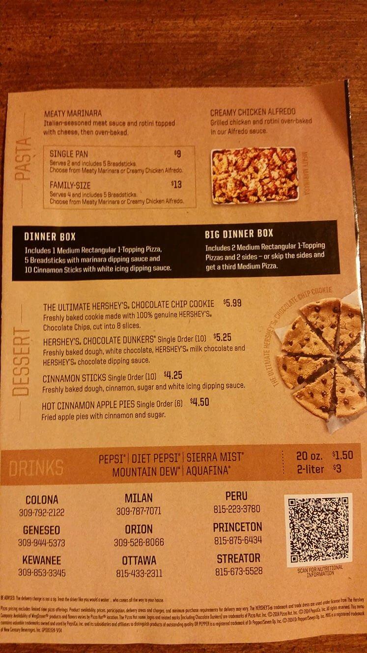 Pizza Hut Menu – 7