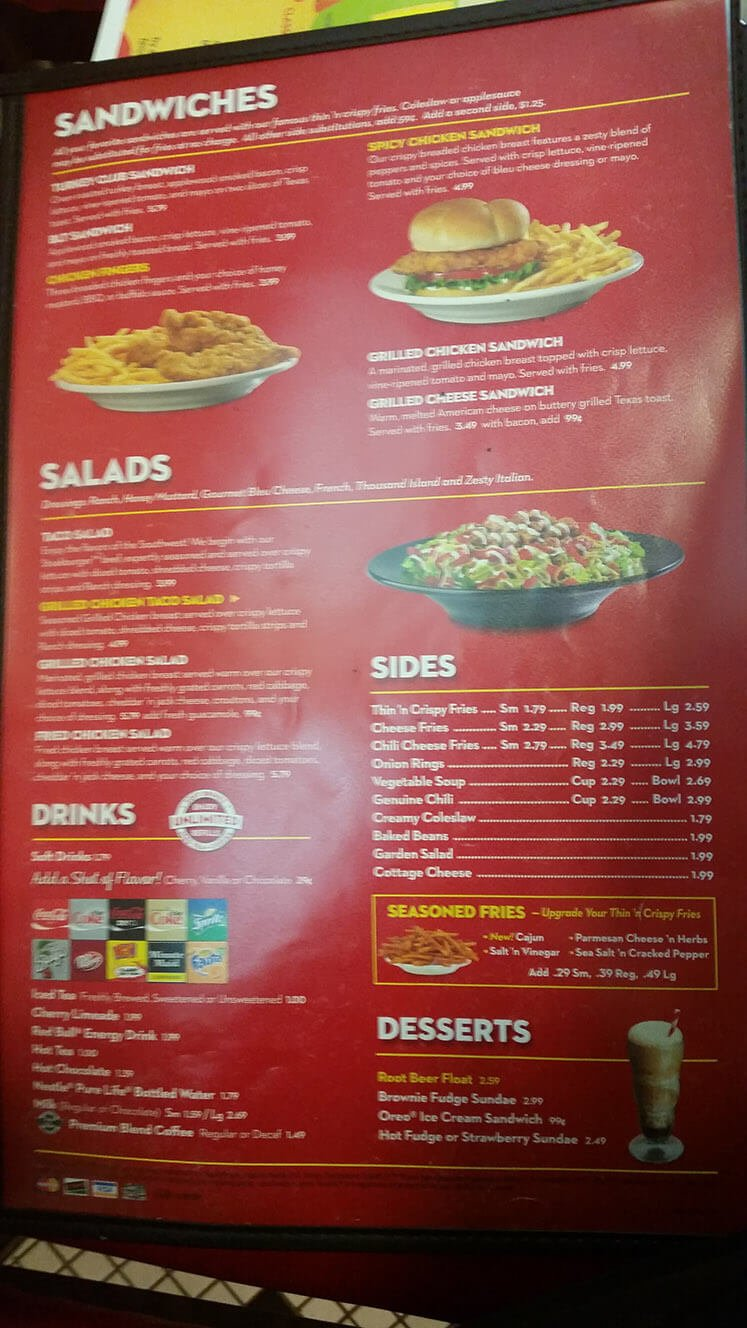 Steak n Shake Menu – 3