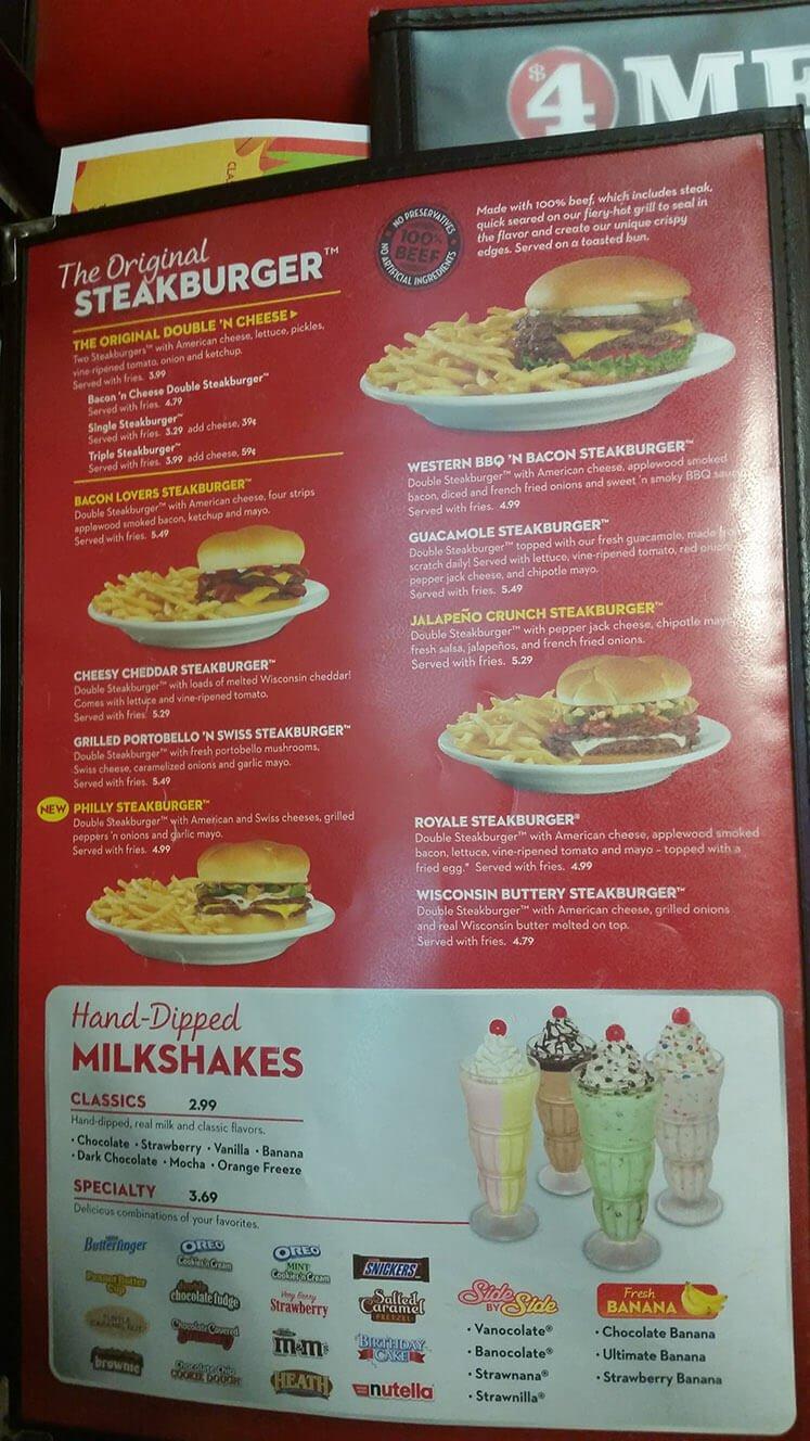 Casino Player Magazine named Steak 'n Shake