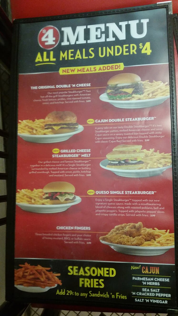 Steak n Shake Menu – 5
