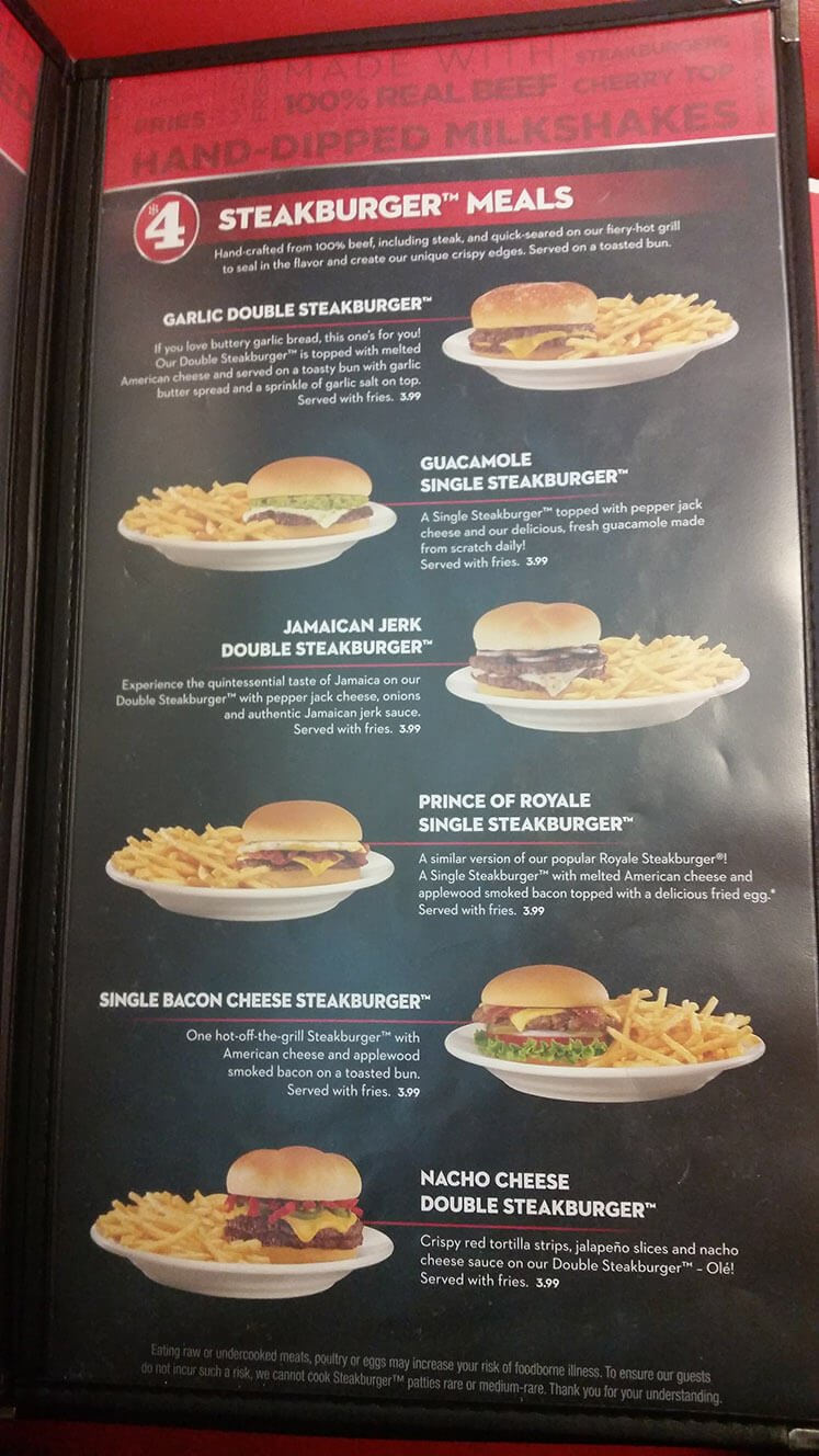 Steak n Shake Menu – 7