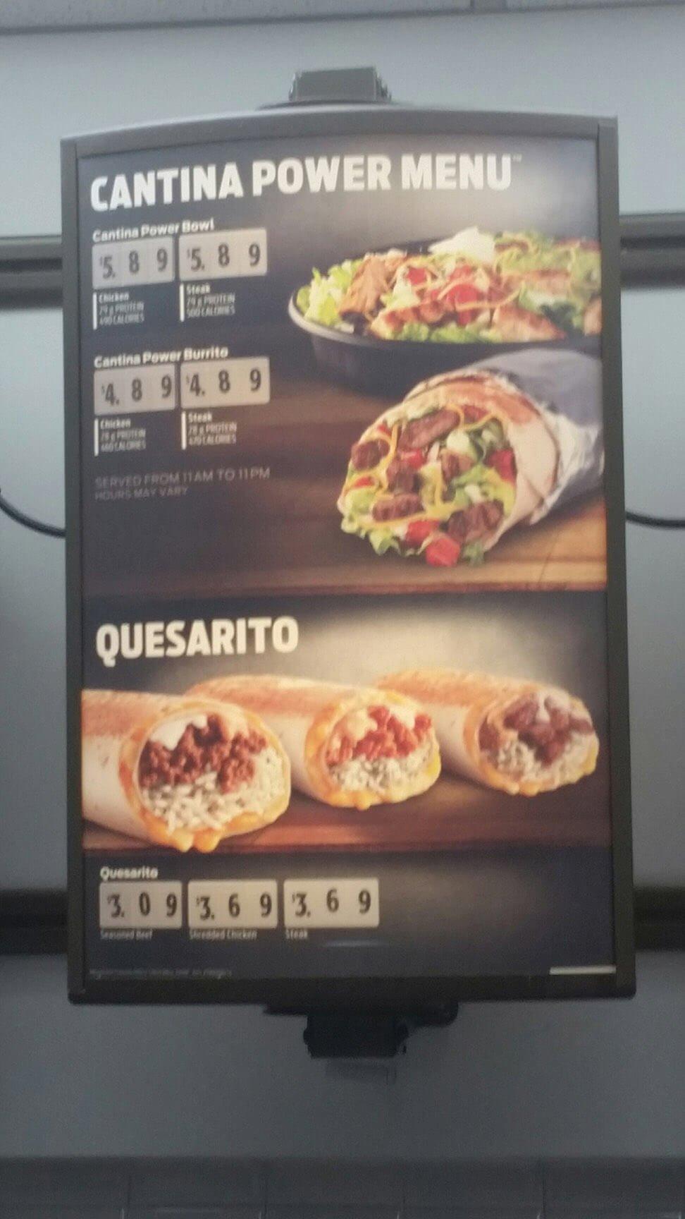 Taco Bell Menu – 4