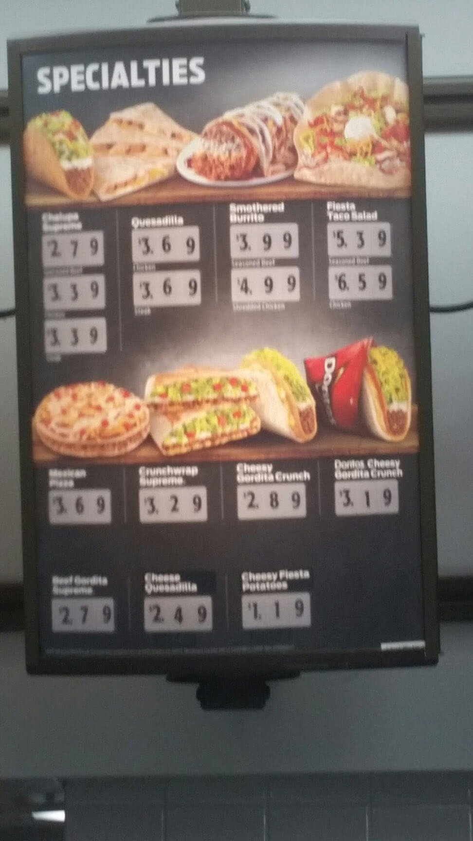 Taco Bell Menu – 6