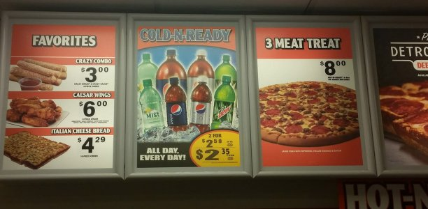 Little Caesars Menu – 1