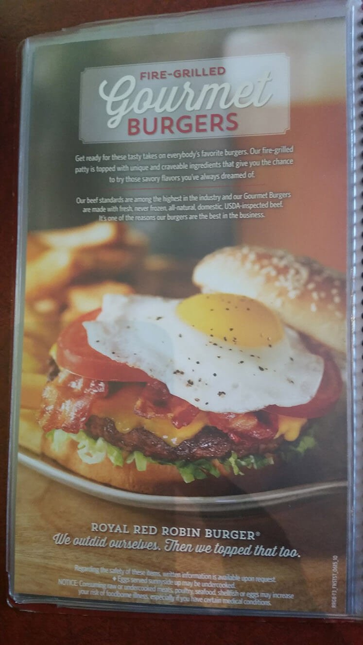 Red Robin Menu – 10