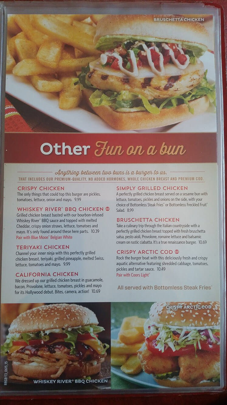 Red Robin Menu – 14