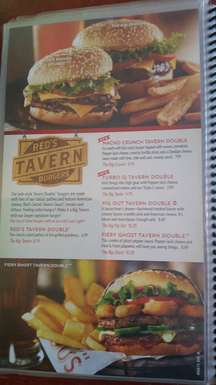 Red Robin Menu – 15