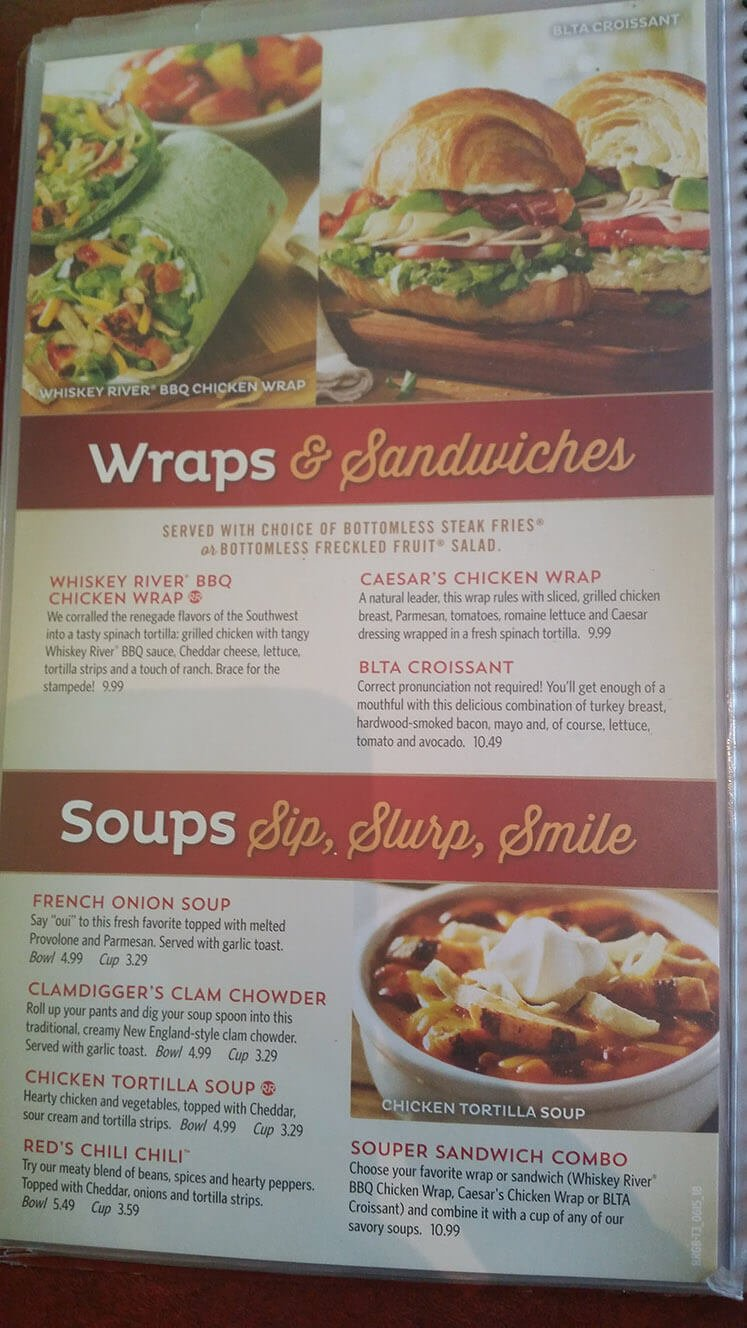 Red Robin Menu – 17