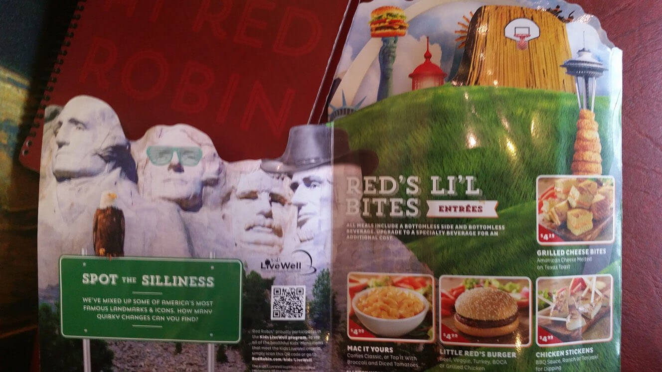 Red Robin Menu – 22