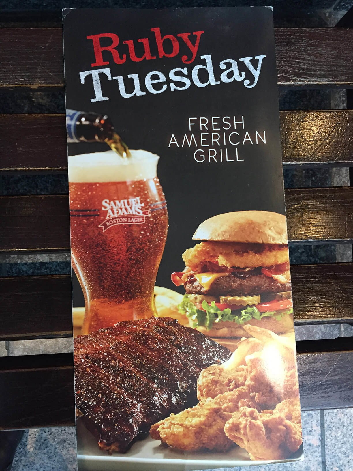Ruby Tuesday Menu – 1