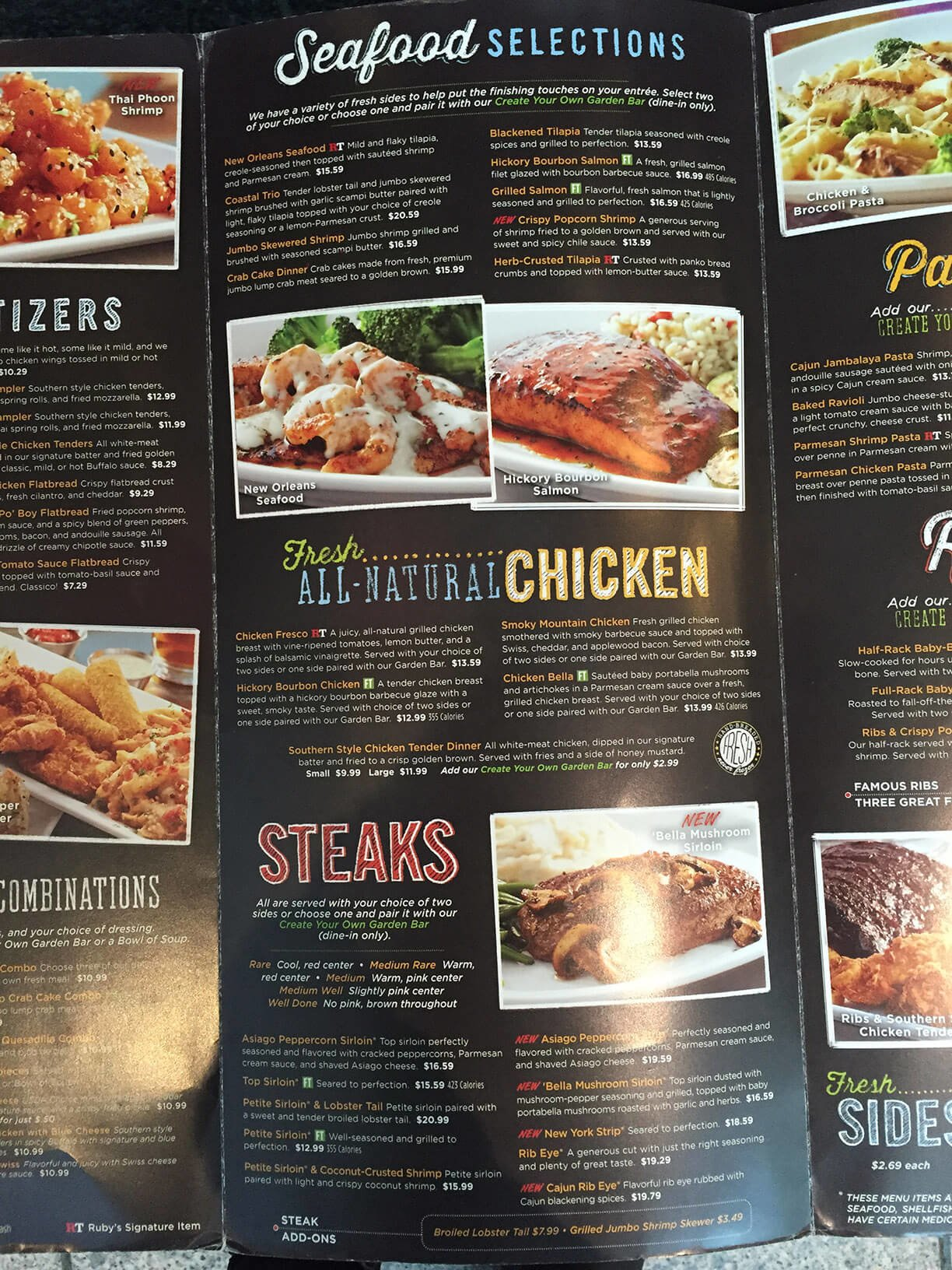Ruby Tuesday Menu – 5