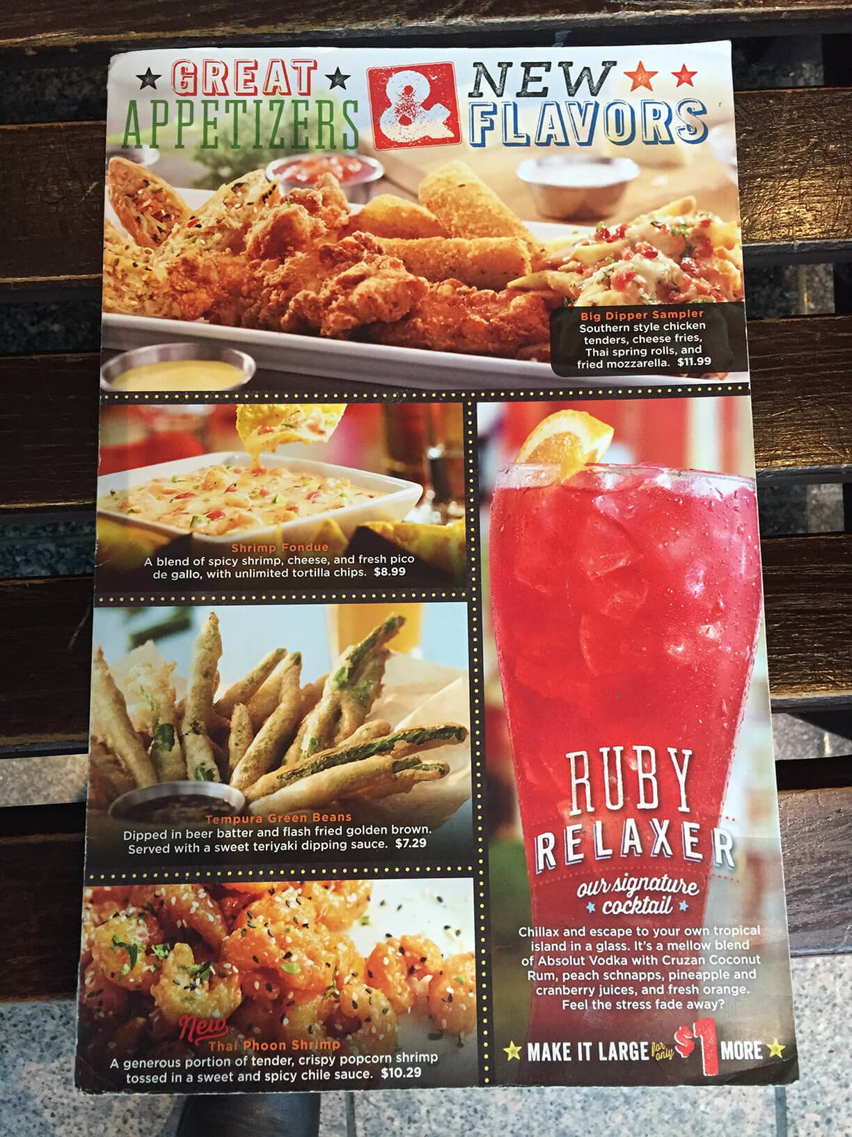 Ruby Tuesday Menu Prices 2017 Meal Items Details Amp Cost