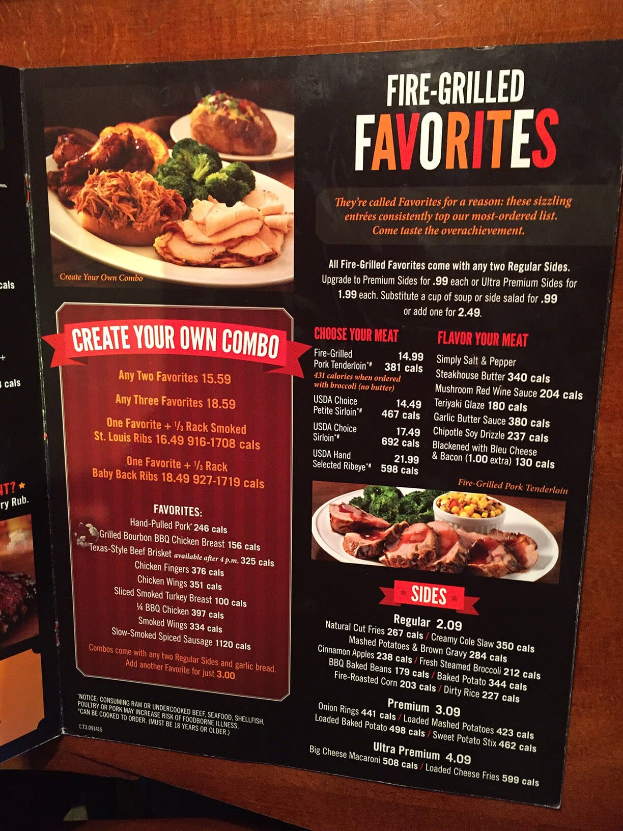 smokey bones menu prices meal items details cost smokey bones menu 7