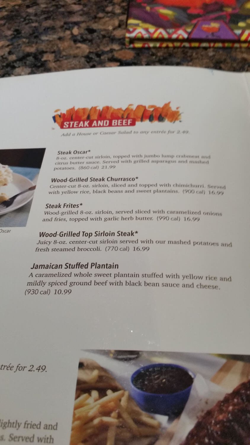 Bahama Breeze Menu – 10