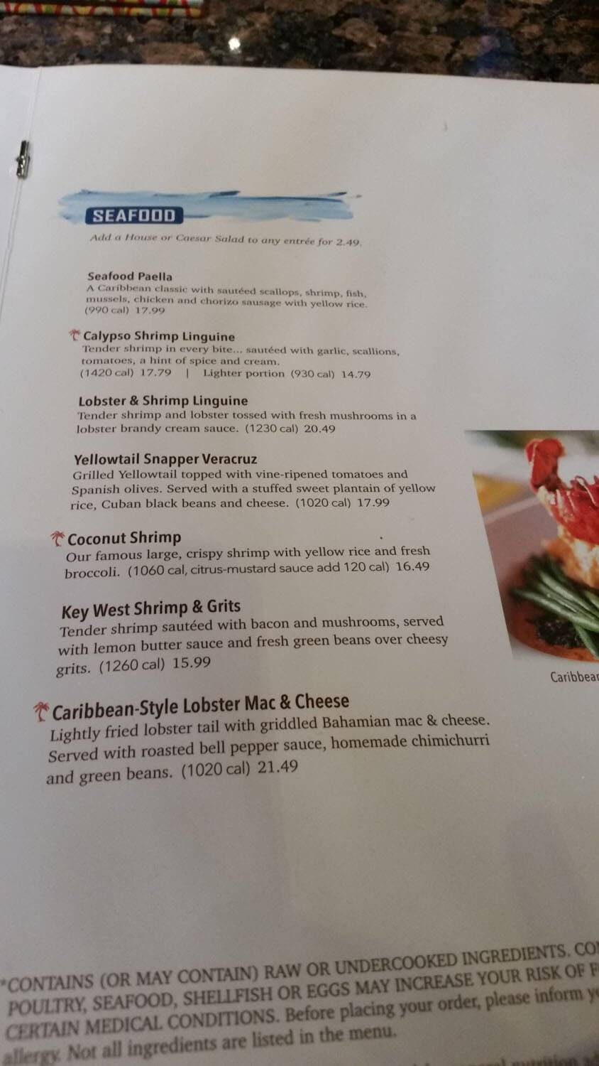 Bahama Breeze Menu – 11