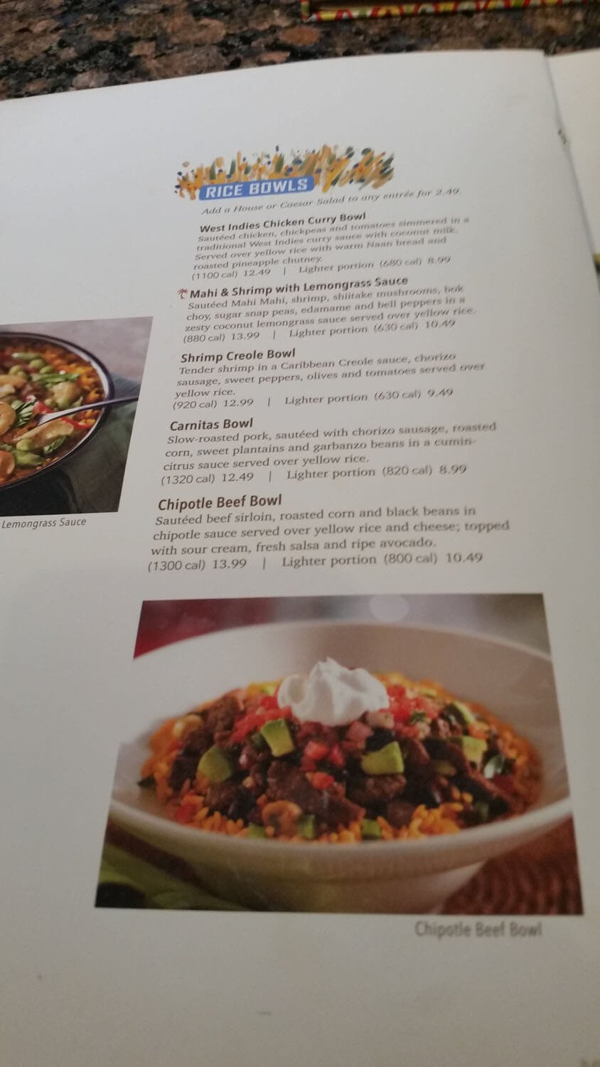 Bahama Breeze Menu – 14