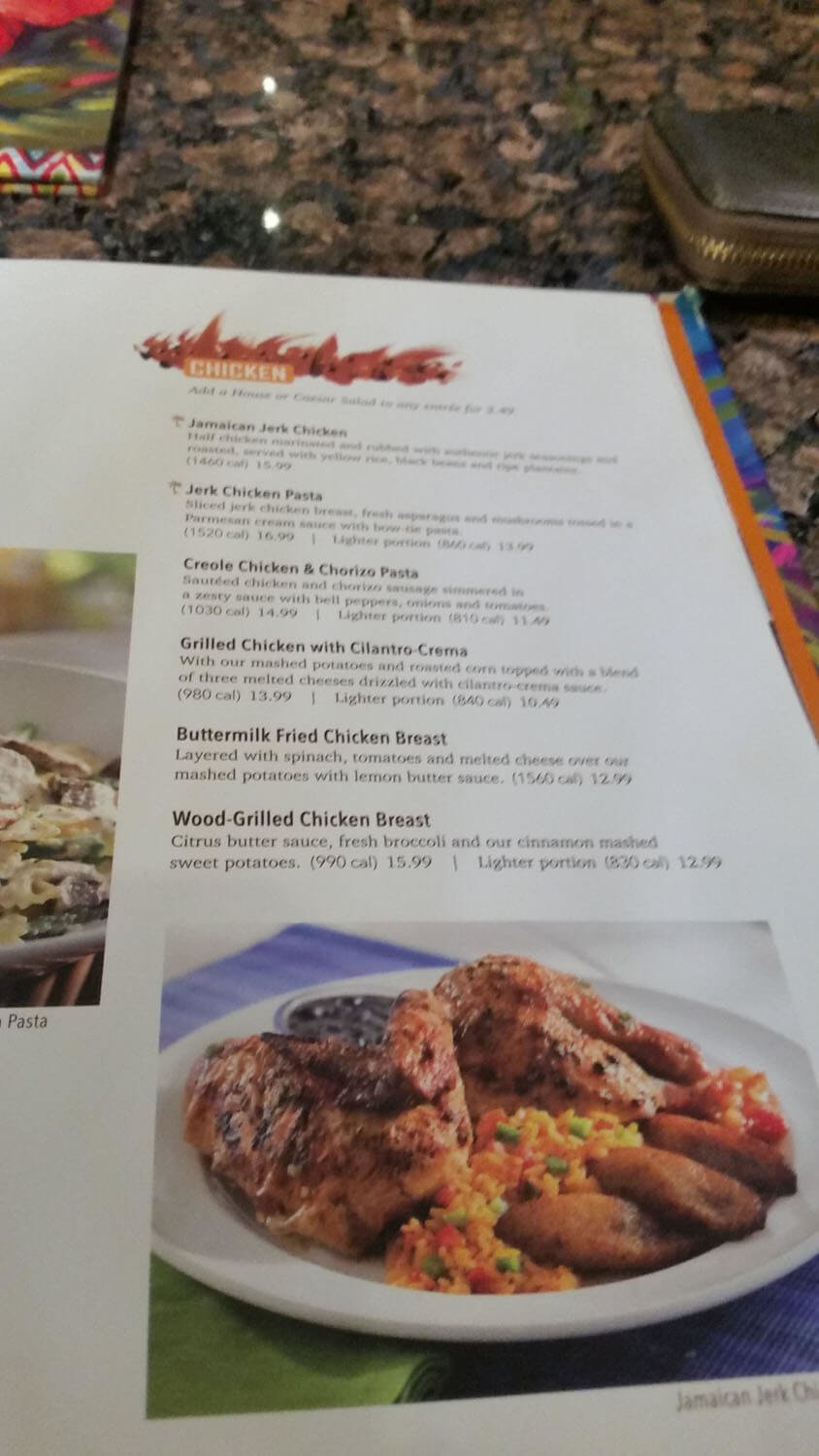 Bahama Breeze Menu – 15
