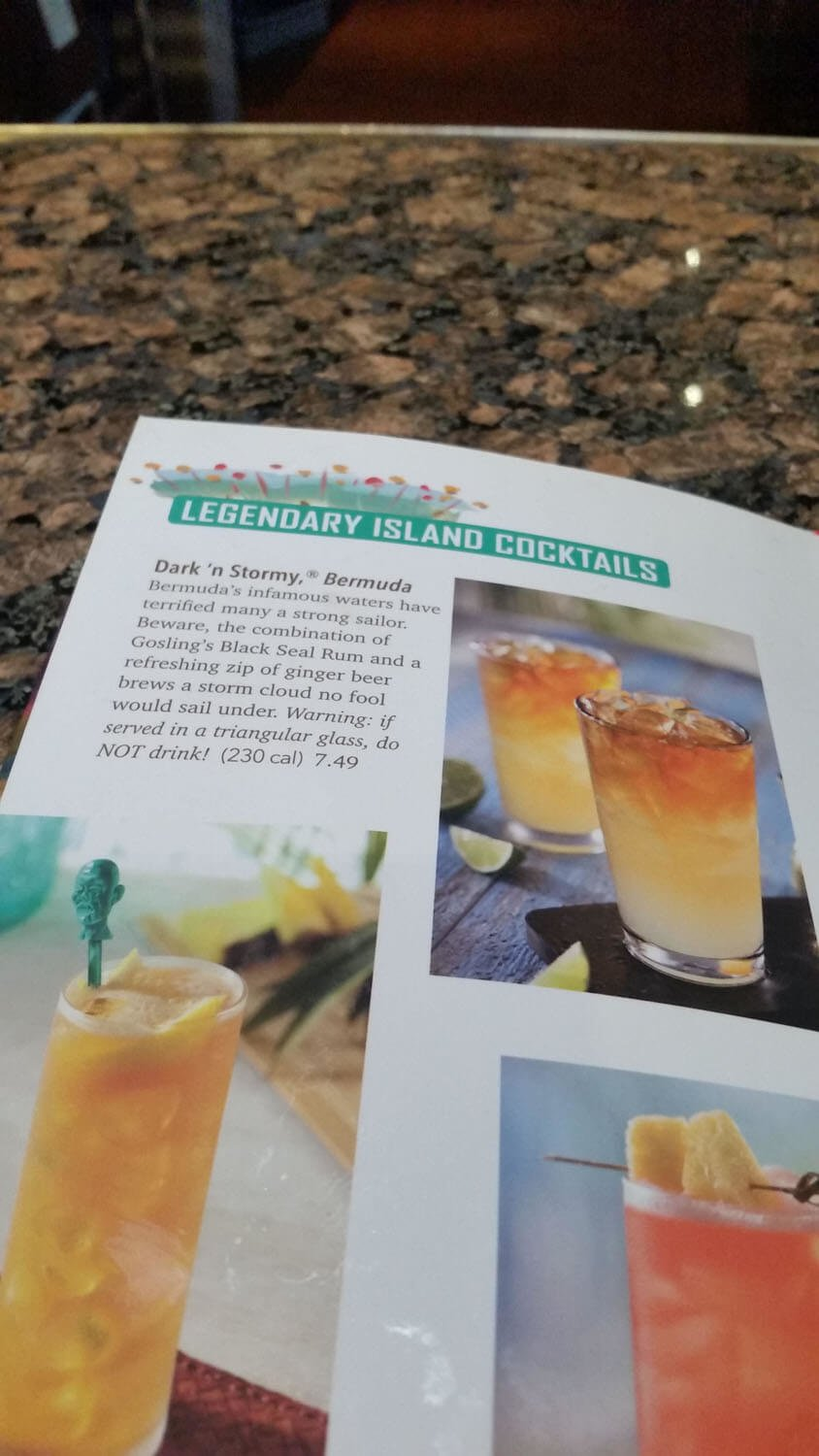 Bahama Breeze Menu – 22