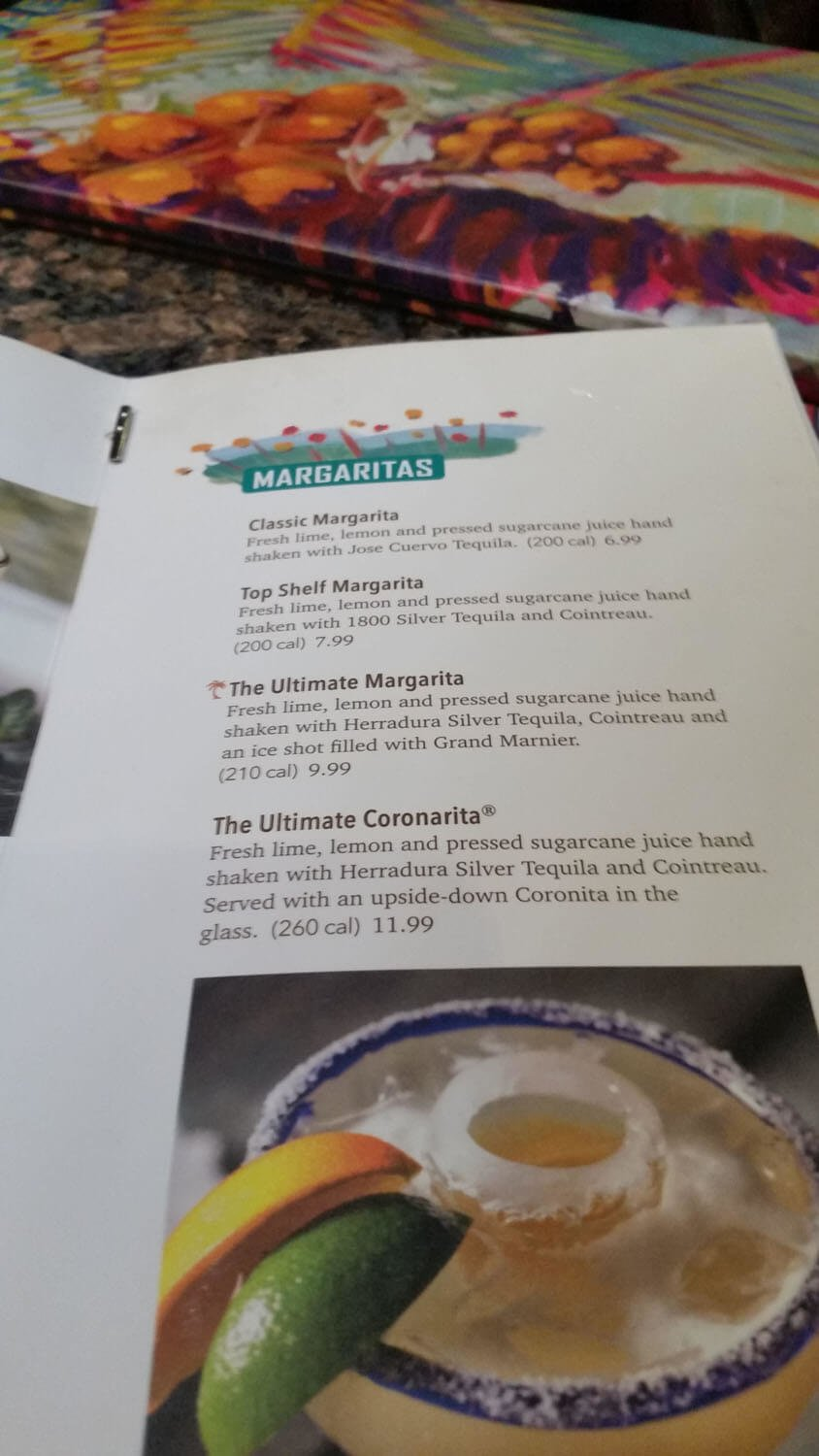 Bahama Breeze Menu – 28