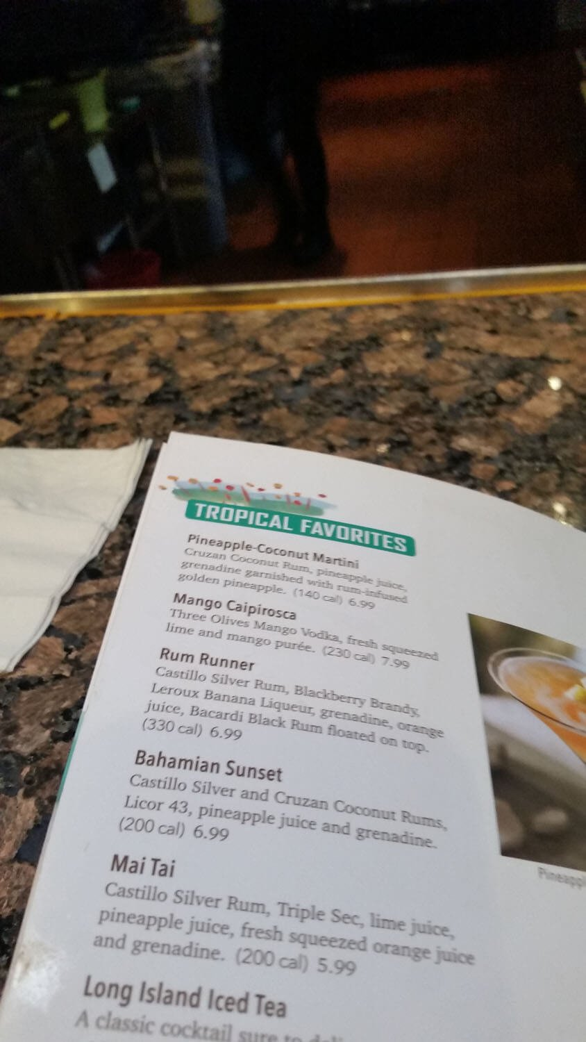 Bahama Breeze Menu – 30
