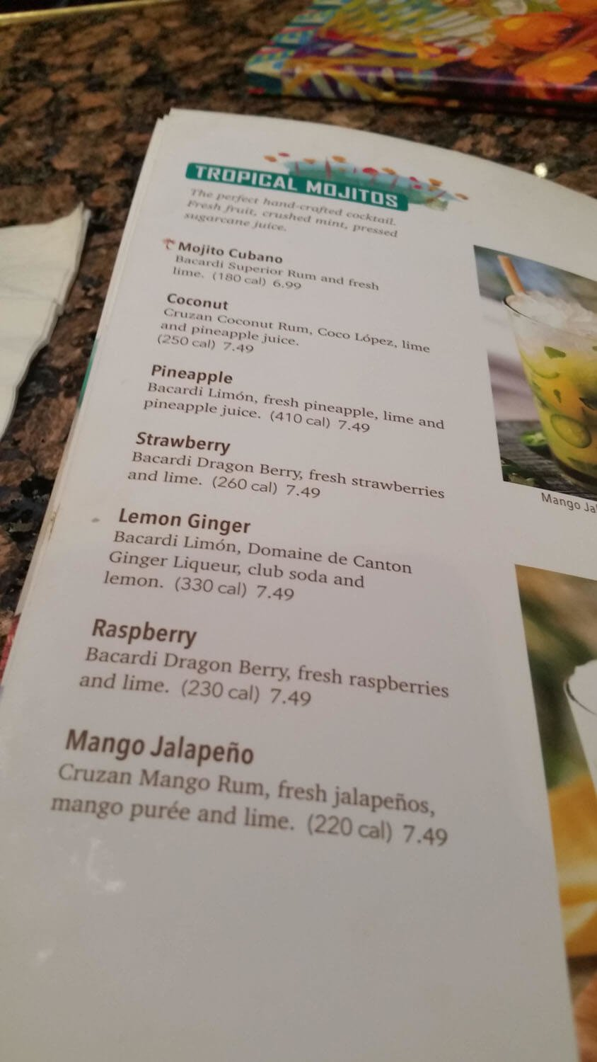 Bahama Breeze Menu – 31